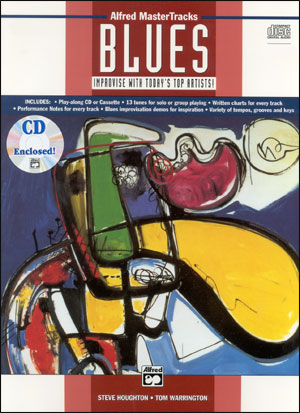 Alfred MasterTracks Blues - C Bass Clef - Book/CD