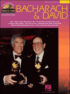Hal Leonard PIANO Play-Along 32 - Bacharach & David