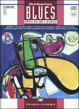 Alfred MasterTracks Blues - Drums - Book/CD