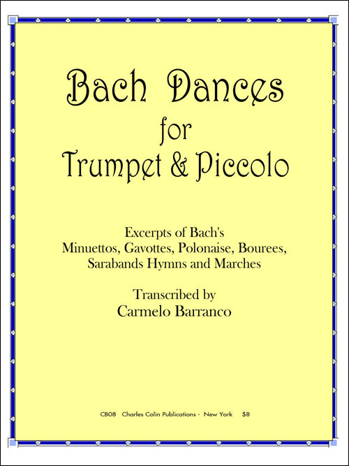 Bach Dances for Trumpet & Piccolo