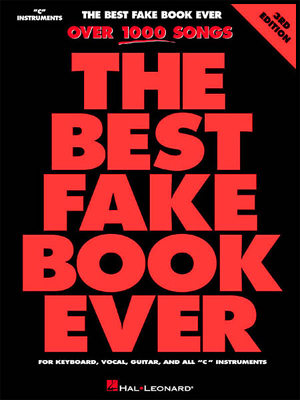 The Best Fake Book Ever - 4th Edition - C KEY