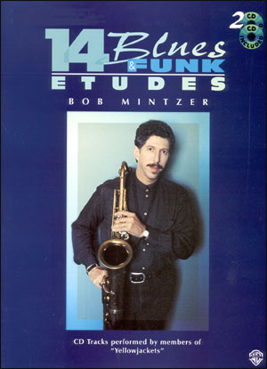 Blues & Funk Etudes Book/CD for Alto Sax