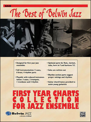 Best of Belwin Jazz: First Year Charts Collection for Jazz Ensemble - Bass