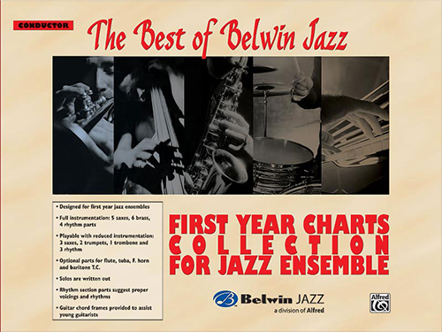 Best of Belwin Jazz: First Year Charts Collection for Jazz Ensemble - 20 Student Books & Score