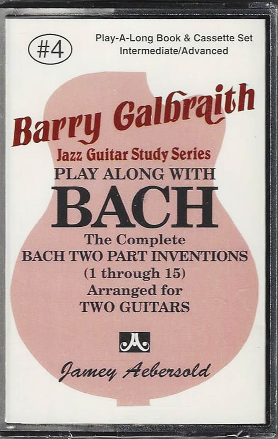 Barry Galbraith - Play Along With Bach - Cassette Only