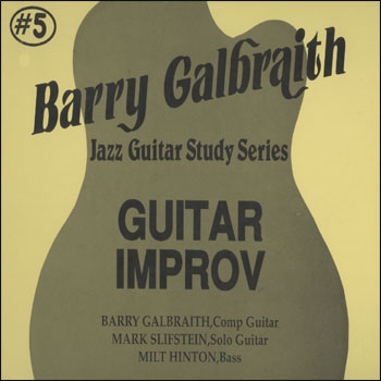 Guitar Improv - AUTOGRAPHED LP