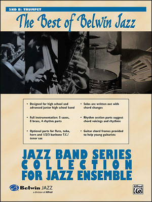 Best of Belwin Jazz: Jazz Band Collection for Jazz Ensemble - 2nd Trumpet