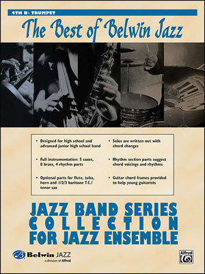 Best of Belwin Jazz: Jazz Band Collection for Jazz Ensemble - 4th Trumpet