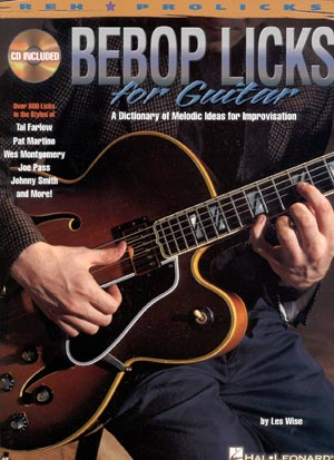 Bebop Licks For Guitar