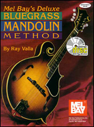 Deluxe Bluegrass Mandolin Method Book/CD Set