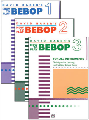 HOW TO PLAY BEBOP - ALL 3 VOLs
