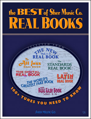 The Best of Sher Music Co. Real Books - Fakebook - B Flat
