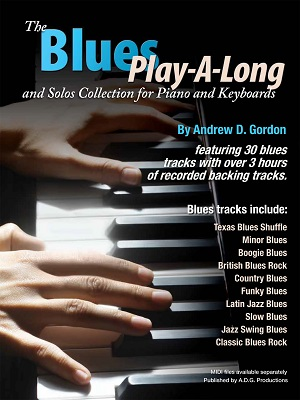 The Blues Play-A-Long and Solos Collection for Piano/Keyboards