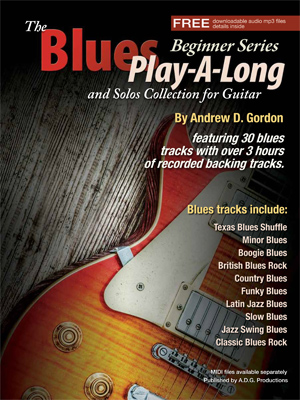 The Blues Play-A-Long and Solos Collection for Guitar - Beginner Series