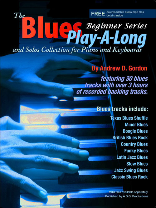 The Blues Play-A-Long and Solos Collection for Piano/Keyboard - Beginner Series