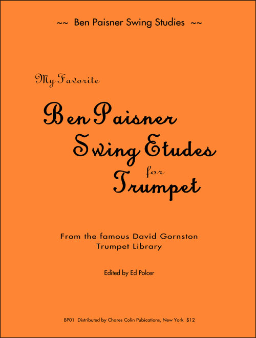 Ben Paisner Swing'n Studies for Trumpet