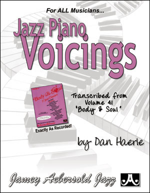 Piano Voicings From The Volume 41 Play-A-Long