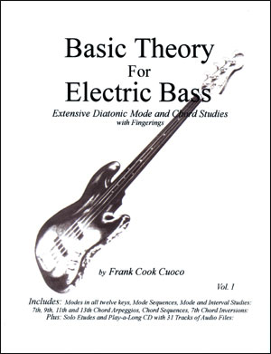 Basic Theory for Electric Bass
