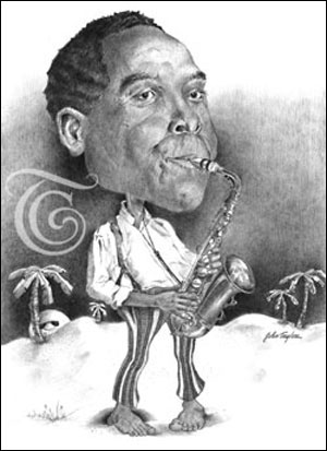 Charlie Parker Caricature