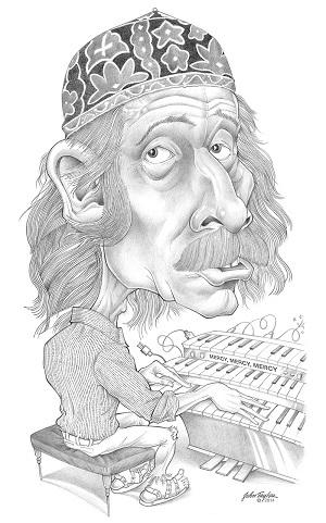 Joe Zawinul Caricature