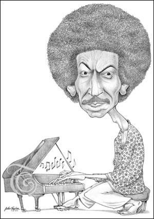 Keith Jarrett Caricature