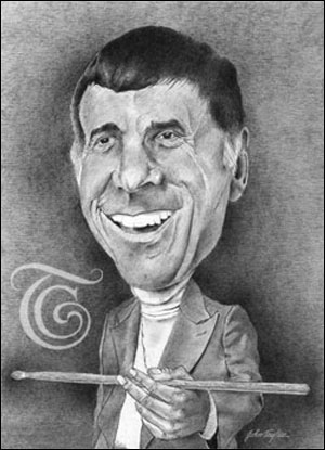 Louie Bellson Caricature