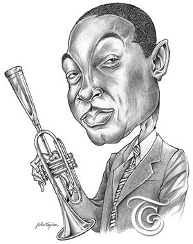 Wynton Marsalis Caricature