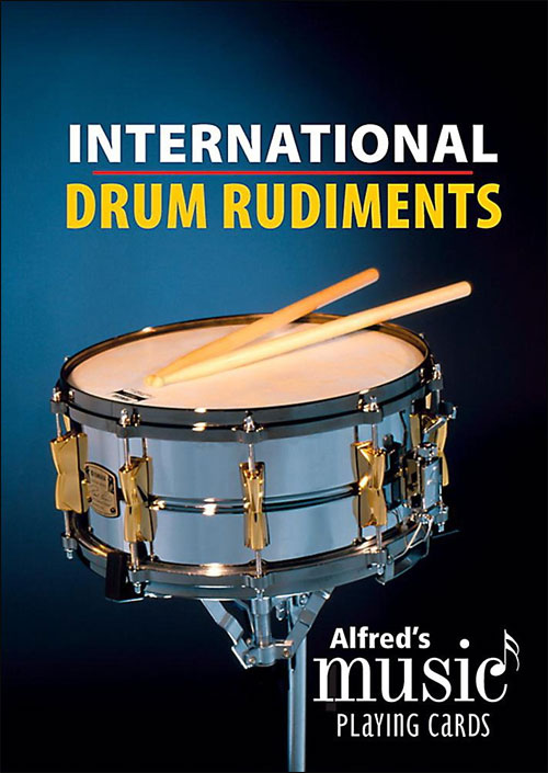 Alfred's Music Playing Cards - International Drum Rudiments