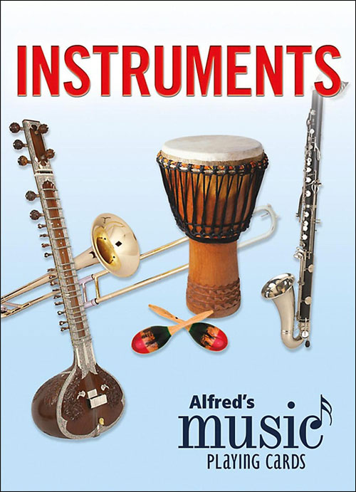 Alfred's Music Playing Cards - Instruments