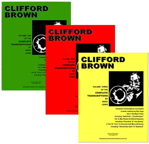 Clifford Brown Transcriptions - 3 Volume Set