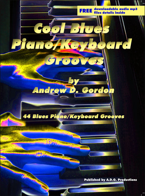Cool Blues Piano/Keyboard Grooves