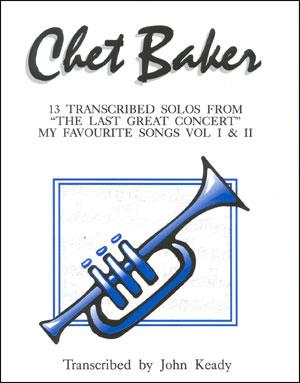 Chet Baker 13 Transcribed Solos