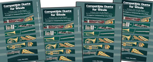 Compatible Duets for Winds - Clarinet, Trumpet, Euphonium T.C., B Flat Tenor Saxophone