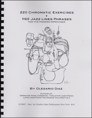 220 Chromatic Exercises + 1165 Jazz Lines Phrases