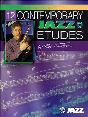 12 Contemporary Jazz Etudes for Tenor Sax