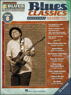Blues Classics - Blues Play-Along Volume 8