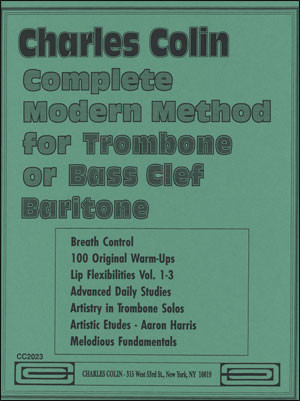 Complete Modern Method for Trombone or Bass Clef Instruments
