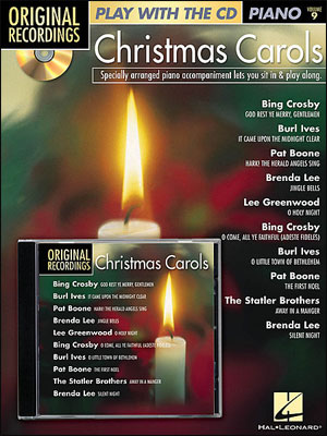 Christmas Play Alongs For Piano<br>Play With The Original recordings! - Christmas Carols