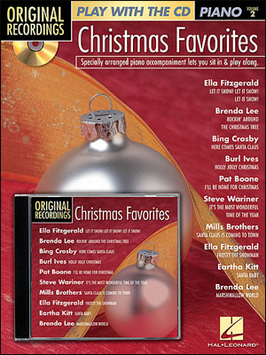 Christmas Play Alongs For Piano<br>Play With The Original recordings! - Christmas Favorites