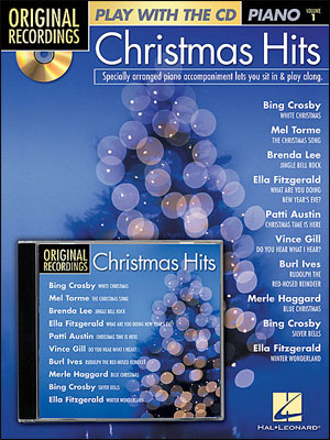 Christmas Play Alongs For Piano<br>Play With The Original recordings! - Christmas Hits