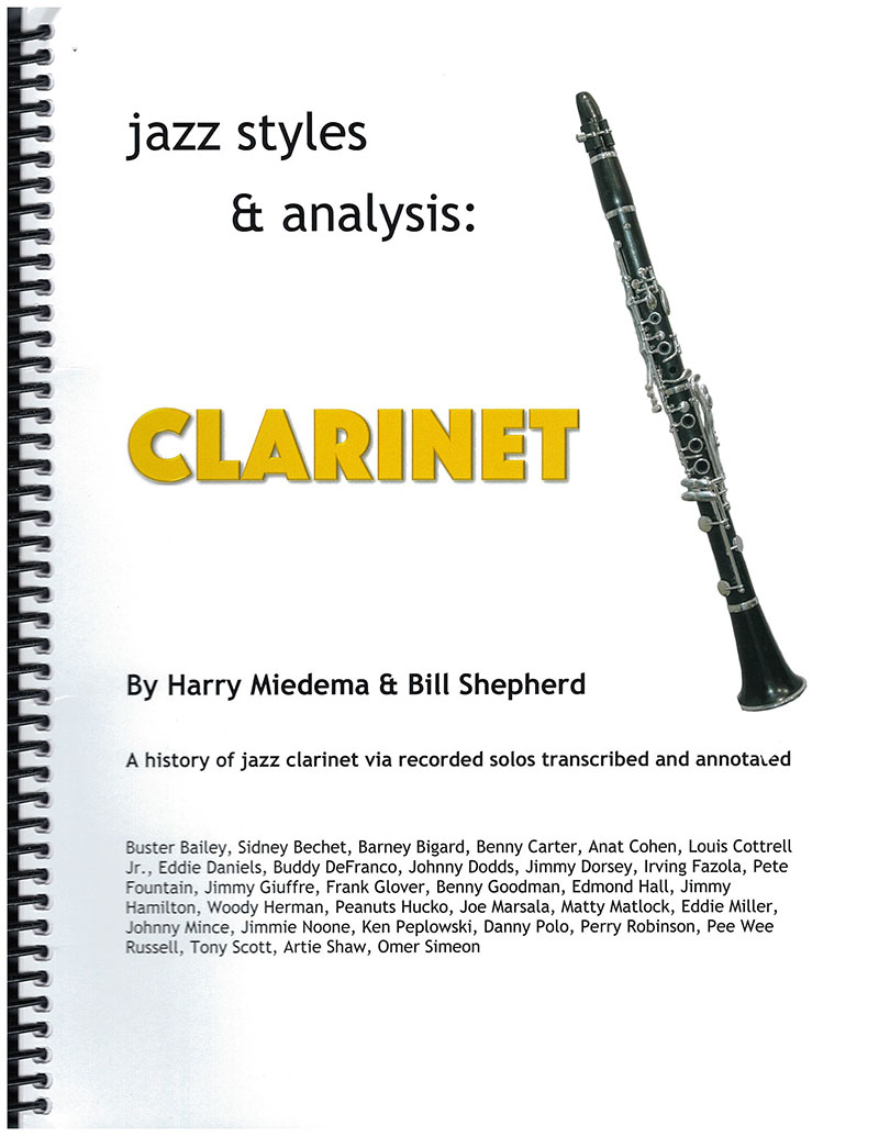 Clarinet Jazz Styles and Analysis