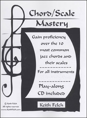 Chord/Scale Mastery BK/CD - Treble Clef