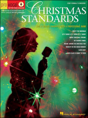 Christmas Standards for Female Singers - Book/Sing-Along CD
