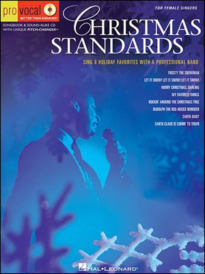 Christmas Standards for Male Singers - Book/Sing-Along CD