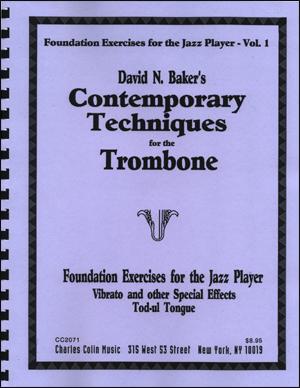 David N. Baker's Contemporary Techniques for the Trombone - Volume 5