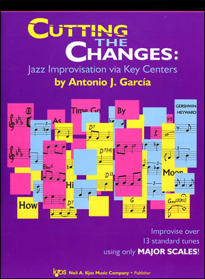 Cutting The Changes: Jazz Improvisation via Key Centers - Bk/CD in Bass Clef