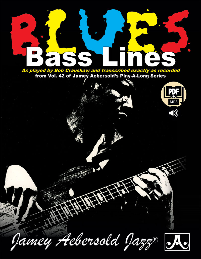 Bob Cranshaw Bass Lines From Volume 42 Play-A-Long