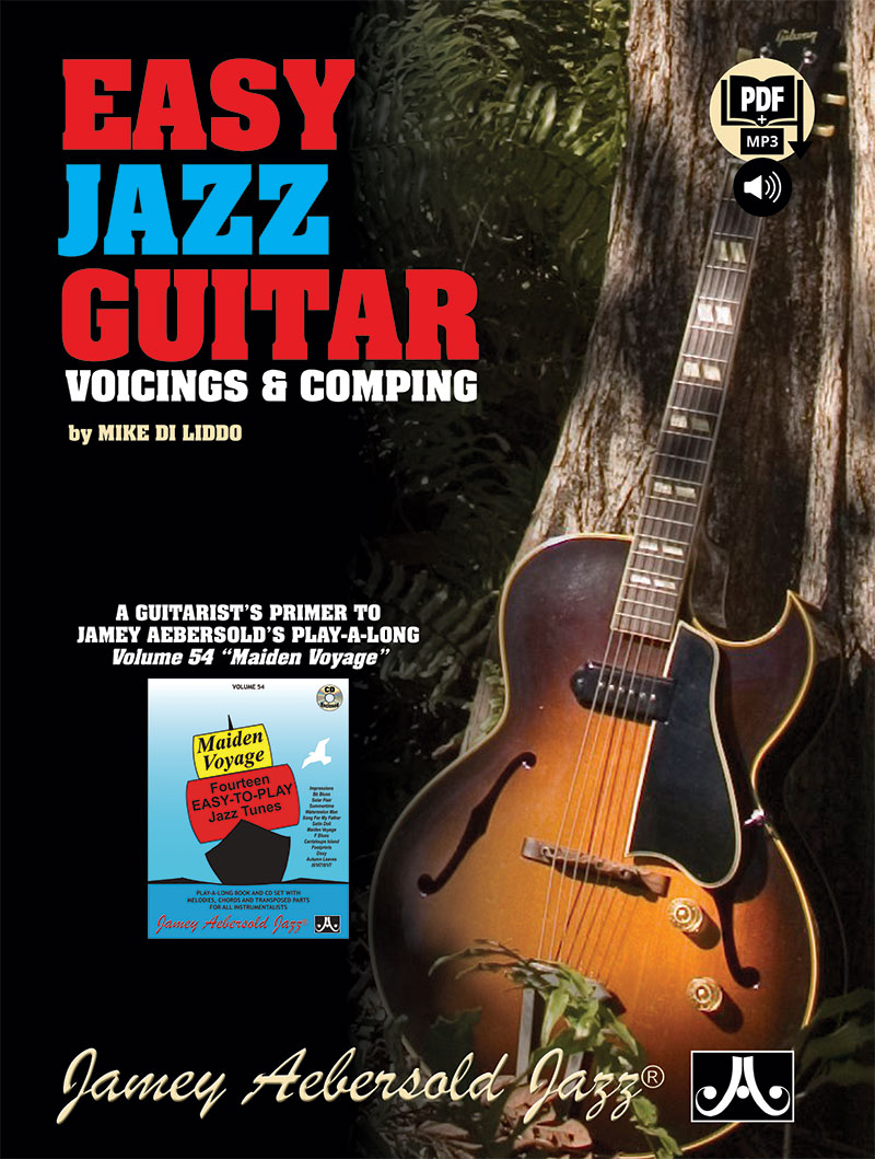 Easy Jazz Guitar: Voicings & Comping - Book/2 CDs