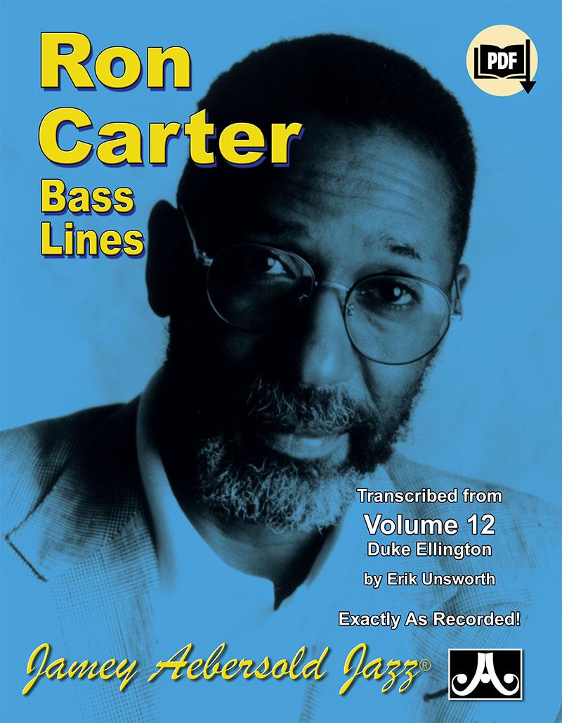 "Transcribed  Bass Lines to Vol. 12 ""Duke Ellington"""