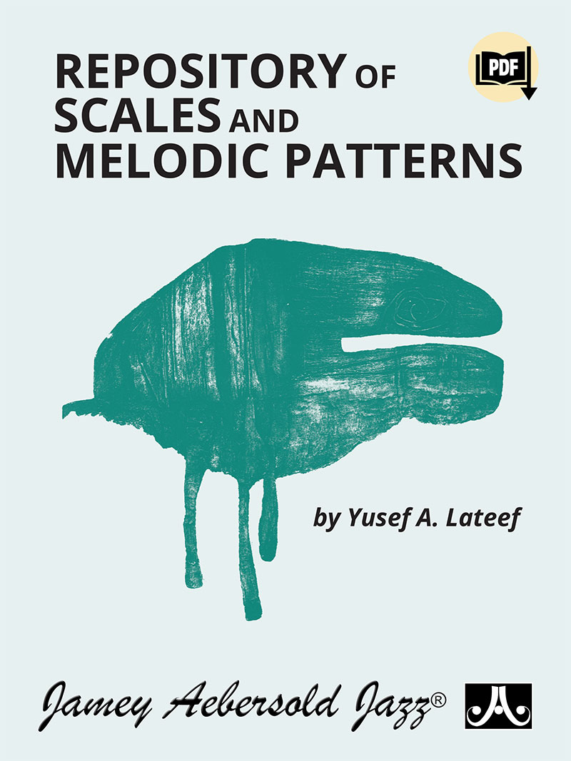 Repository Of Scales And Melodic Patterns - by Yusef Lateef - Treble Clef